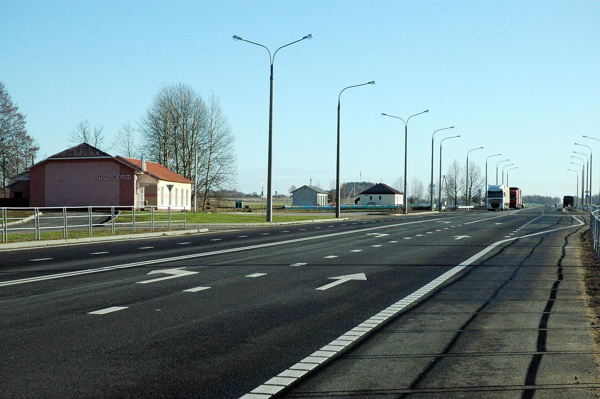 Автомобильная дорога Р-21 Витебск – граница Российской Федерации