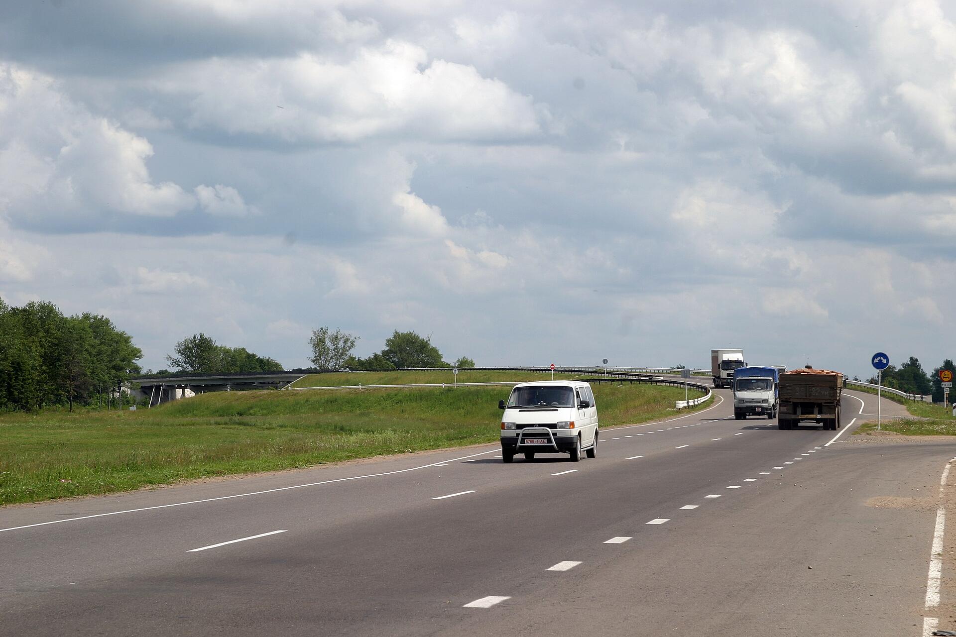 Автомобильная дорога Р-20 Витебск-Полоцк